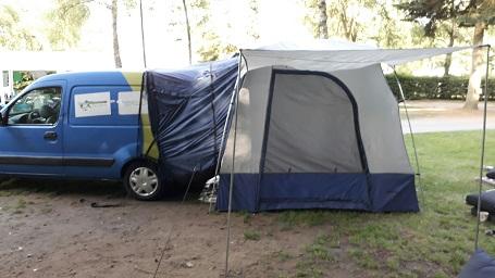 Tent voor auto of camper