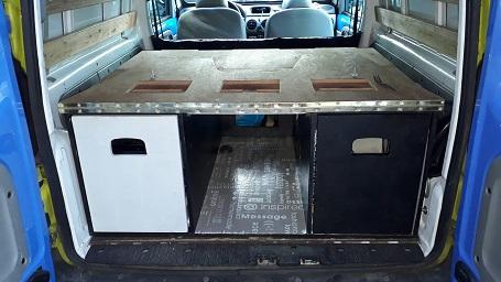 Camperbox inbouw