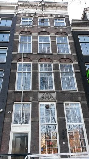 Het huis van Michiel de Ruyter in Amsterdam