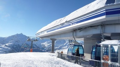 Skilift bij Konigsleiten