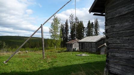 Een boerderij uit de tijd van de vikkingen