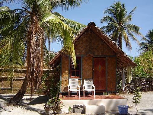 Een vakantiehuisje op Koh lipe