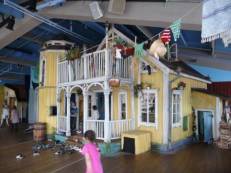 Pipi langkous speelhuis