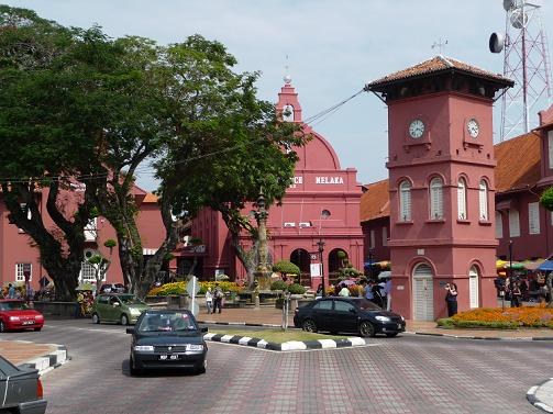 Het oude centrum van Malakka