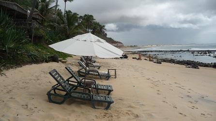 Strand bij Tibau do Sul