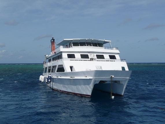 Met de boot op reis