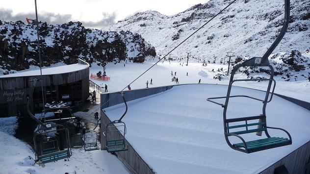 Wintersporten in Nieuw-Zeeland
