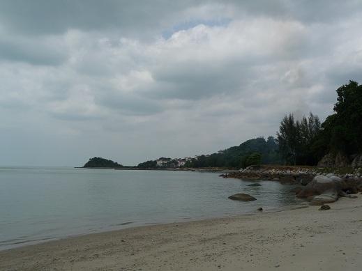 Strand nabij Malakka