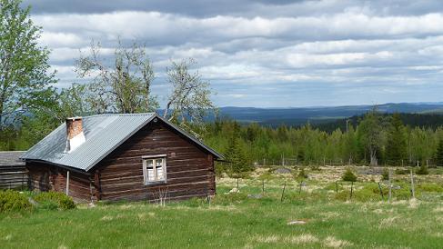 Natuurgebied in Zweden